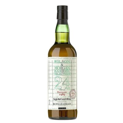 Wilson & Morgan barrel selection 24 distilled 1989 Bunnahabhain
