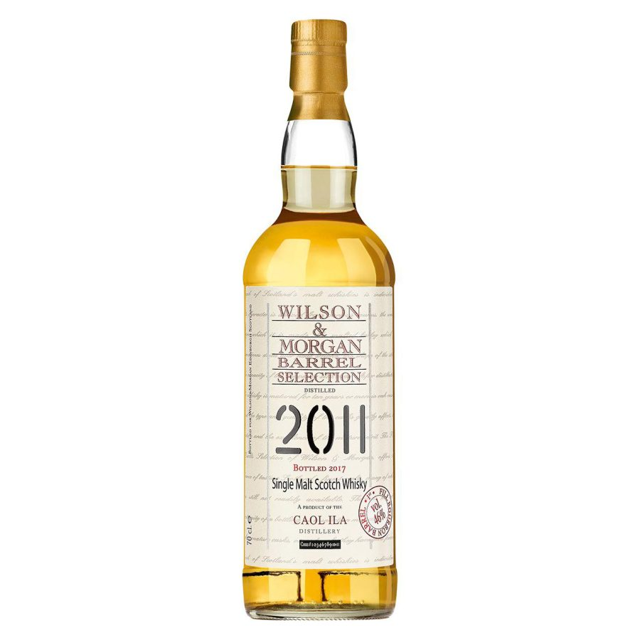 Wilson & Morgan barrel selection distilled 2011 Caol Ila