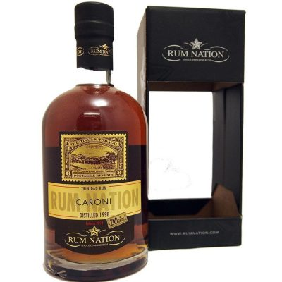 Caroni Rum Nation Trinidad 1998 Release 2014 2nd Batch