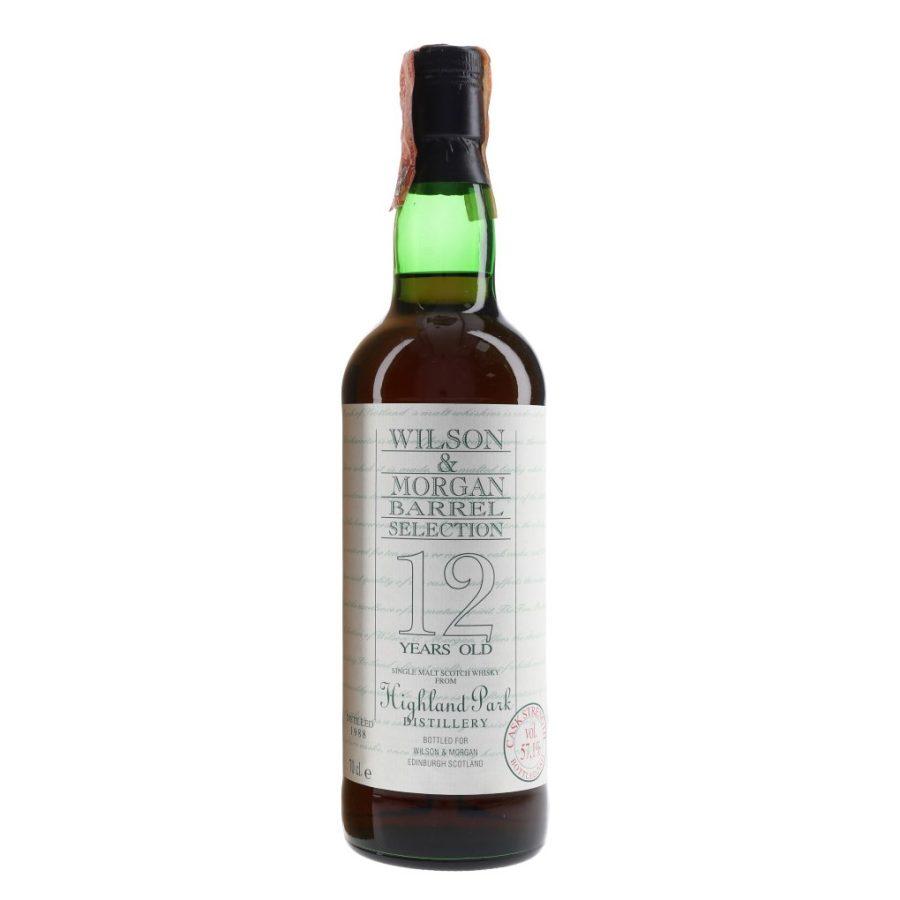 Wilson & Morgan barrel selection 12 distilled 1988 Highland Park