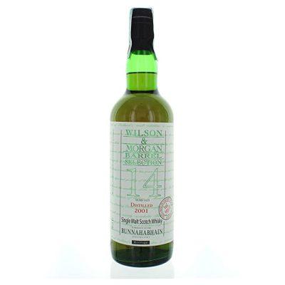 Wilson & Morgan barrel selection 14 distilled 2001Bunnahabhain