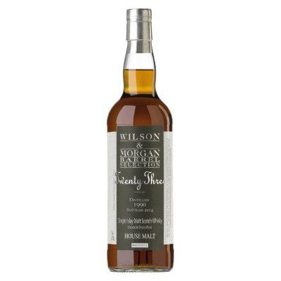 Wilson & Morgan barrel selection 23 distilled 1990 Hous Malt