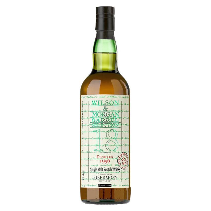 Wilson & Morgan barrel selection 18 distilled 1996 Tobermory