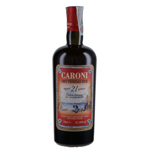 Caroni 100% Trinidad Rum 21 years old