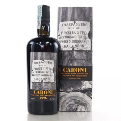 Caroni 1996 age 20 years old Rum