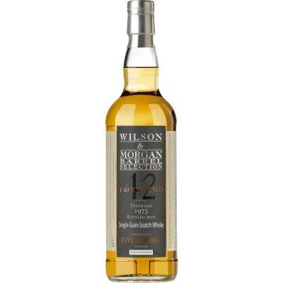 Wilson & Morgan barrel selection 42 distilled 1973 Bottled 2016