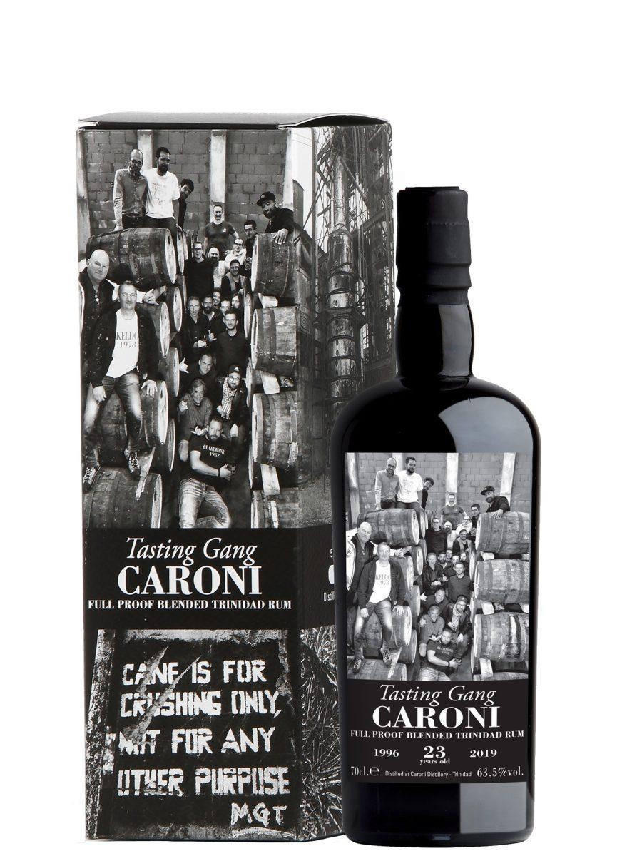 Caroni Testing Gang 1996 age 23 years old Rum
