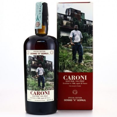 "Caroni Dennis ""X"" Gopaul 1998 age 20 years old Rum"