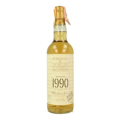 Wilson & Morgan barrel selection distilled 1990 Glentauchers