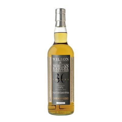 Wilson & Morgan barrel selection 30 distilled 1984 Cameronbridge