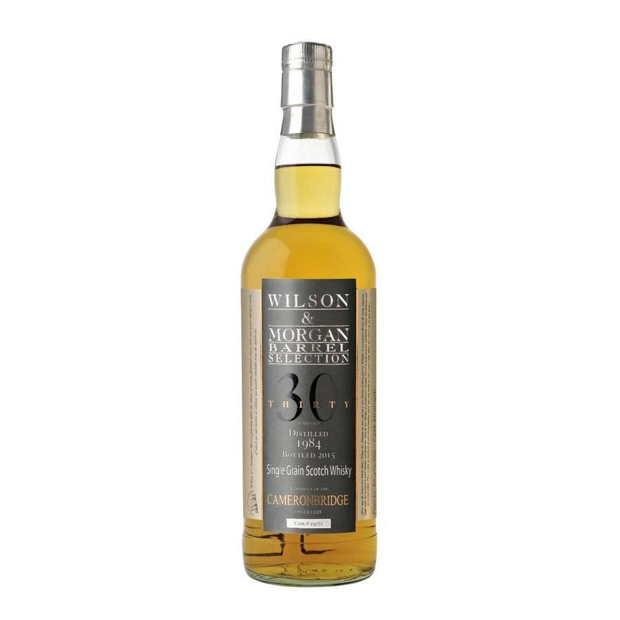 Wilson & Morgan barrel selection 30 distilled 1984 Cameronbridge