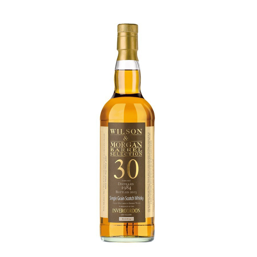 Wilson & Morgan barrel selection 30 distilled 1984