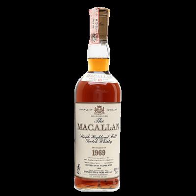 Macallan 1969 aged 18 years