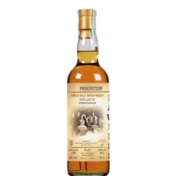 Lawless Prohibition 1990 bottled 2019 distilled by Bunnahabhain