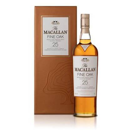 Macallan fine oak 25 Years