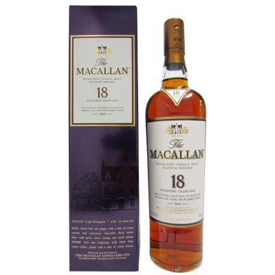 Macallan 1998 aged 18 years 2016 release