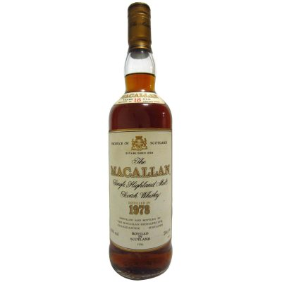 Macallan 1978 aged 18 years