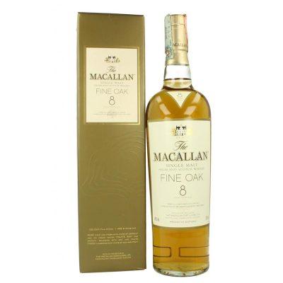 Macallan fine oak 8 years