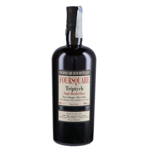 Triptych foursquare Single Blended rum
