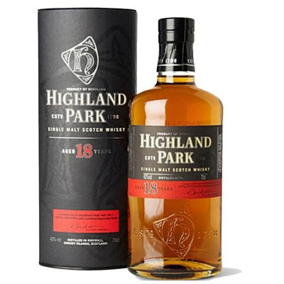 Highland park 18 years old distilled kirkwall