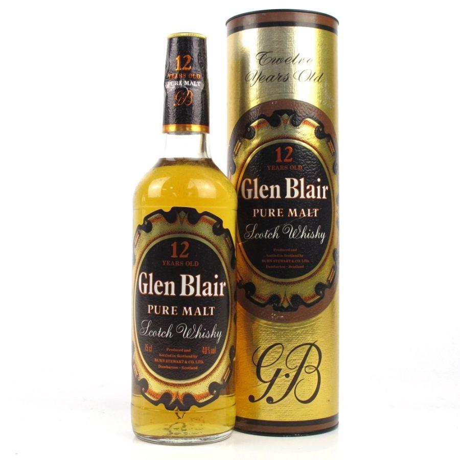 Glen Blair 12 Years Old Burn Stewart