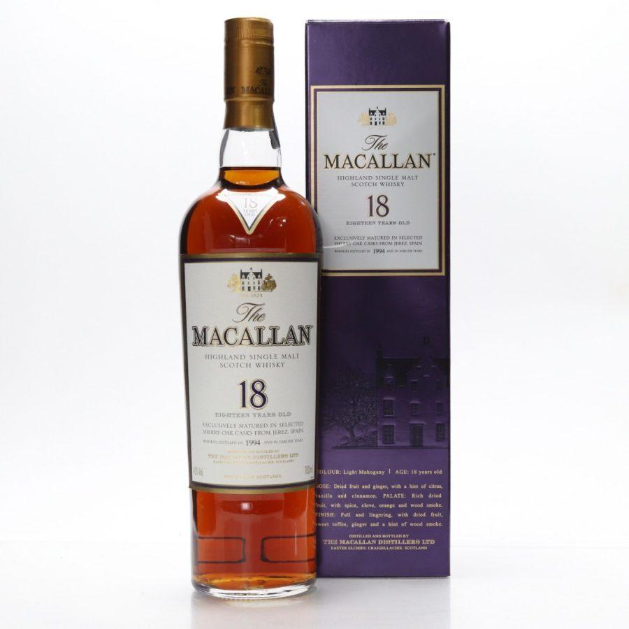 Macallan 1994 aged 18 years