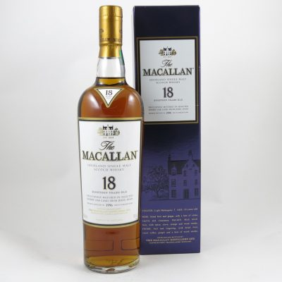Macallan 1996 aged 18 years