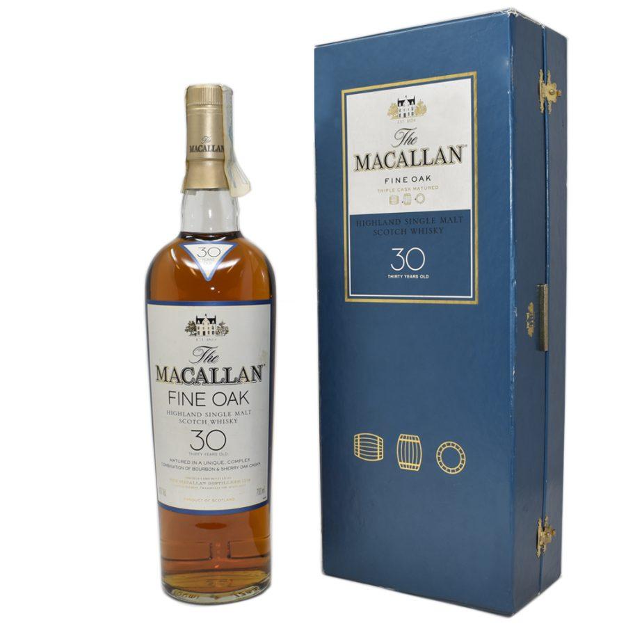 Macallan fine oak 30 Years