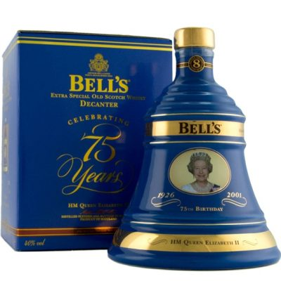 Bell's the queen's 75th Birthday decanter