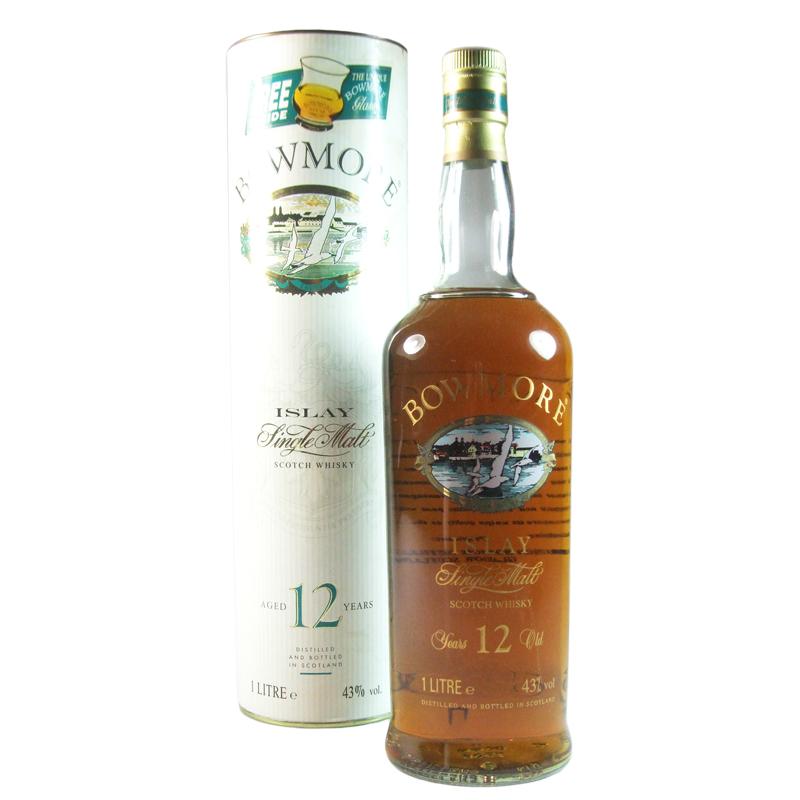 Bowmore islay single malt 12 years 1 Litre