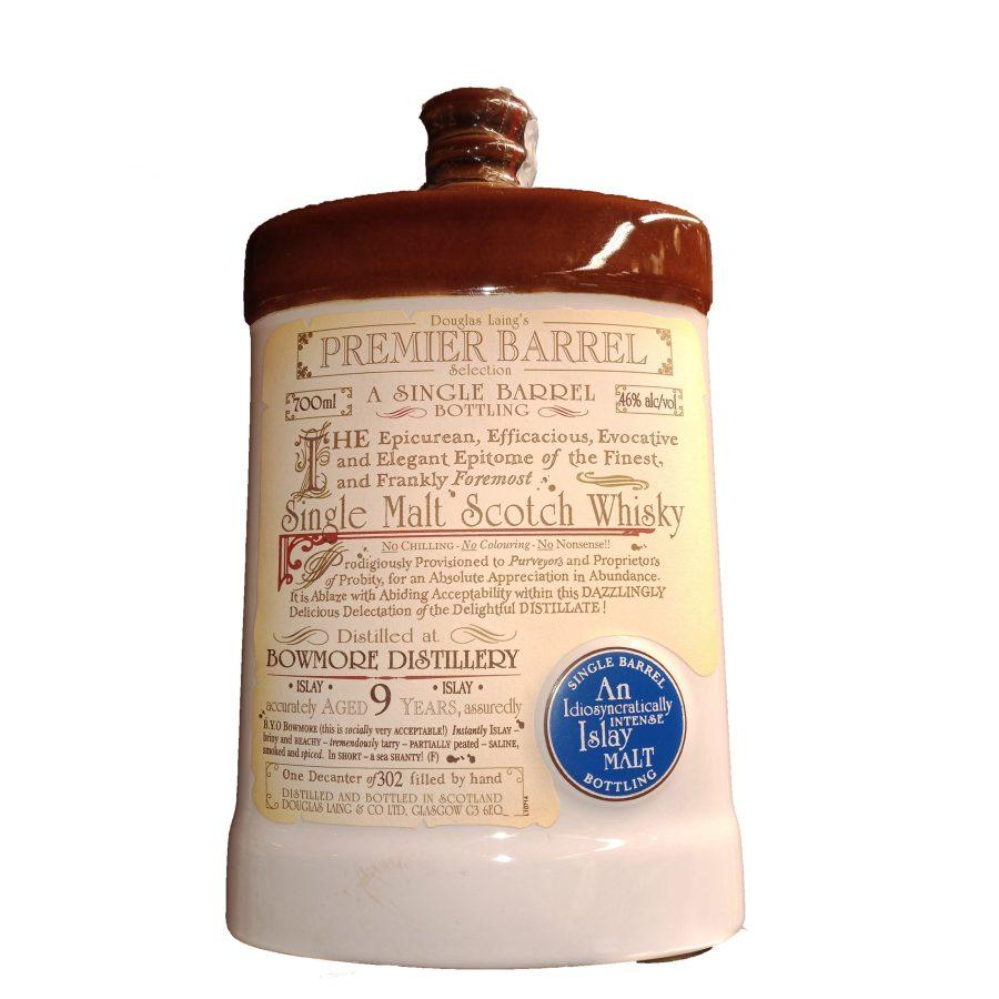 Douglas Laing's a Single Barrel Bowmore Distillery 9 Years 700ml