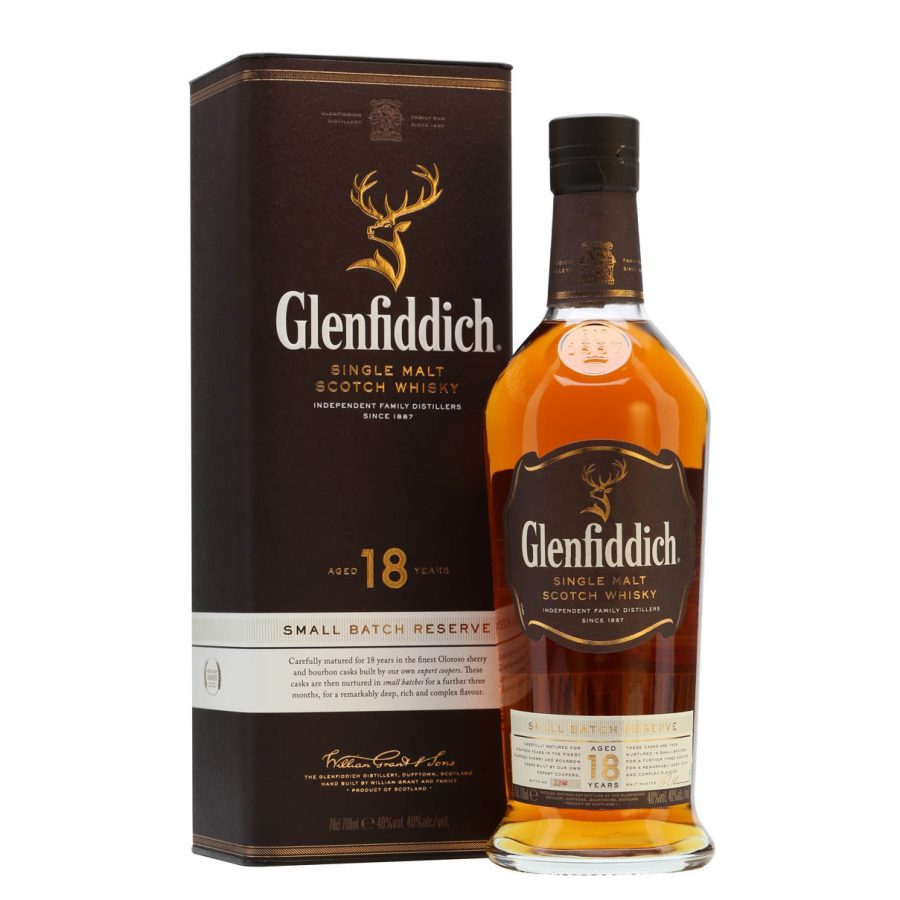 Glenfiddich 18 years small batch reserve
