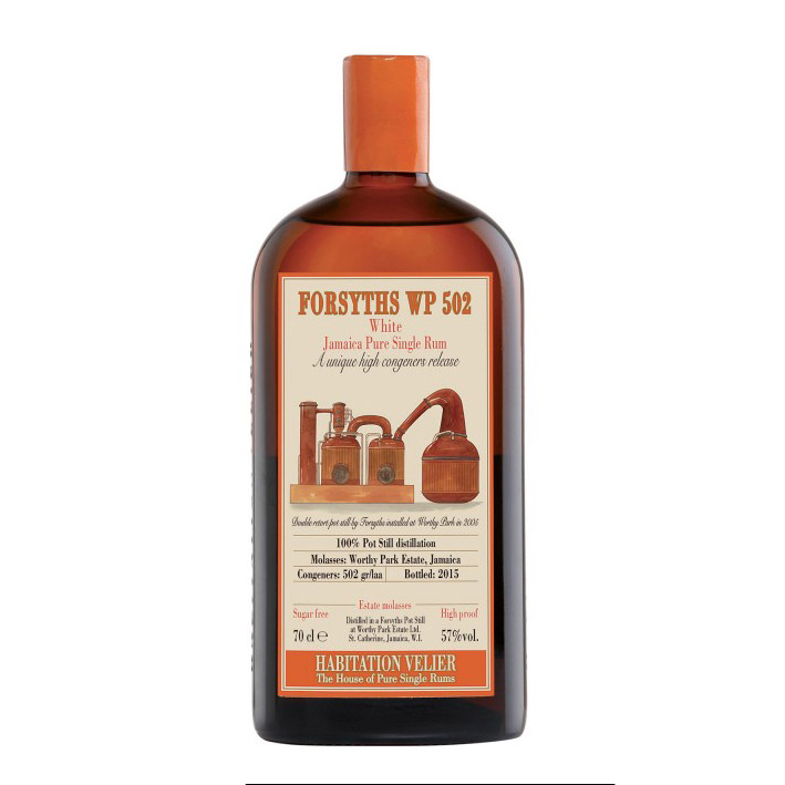 Forsyths wp 502 White Jamaica Pure Single Rum Habitation Velier