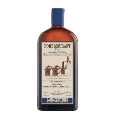 Port Mourant White Guyana Pure Single Rum Habitation Velier