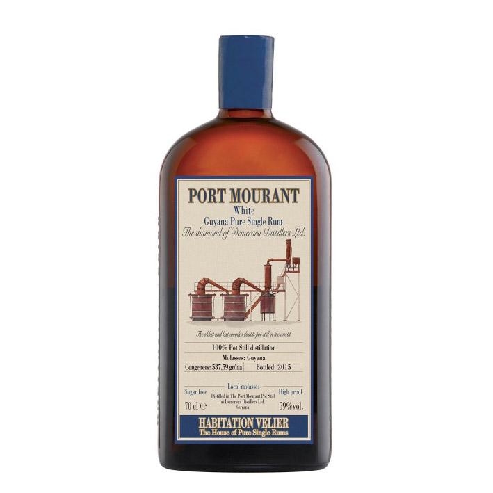 Port Mourant White Guyana Pure Single Rum Habitation Velier