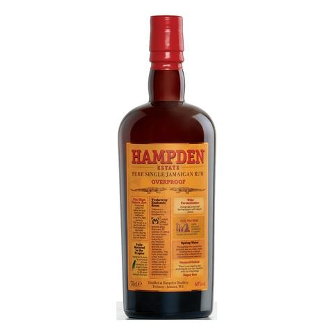 Trelawny Overproof Hampden Estate pure single jamaican rum