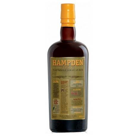 Trelawny Hampden Estate pure single jamaican rum