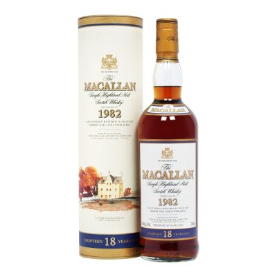 Macallan 1982 aged 18 years