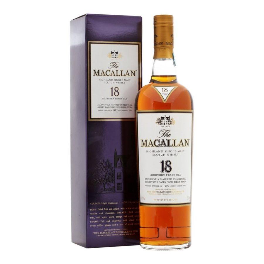 Macallan 1995 aged 18 years