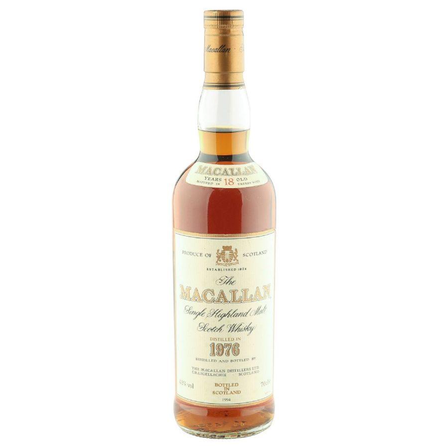 Macallan 1976 aged 18 years