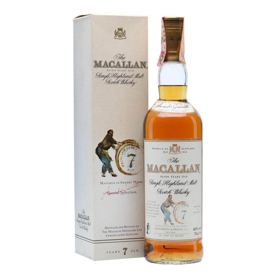 Macallan 7 Years old