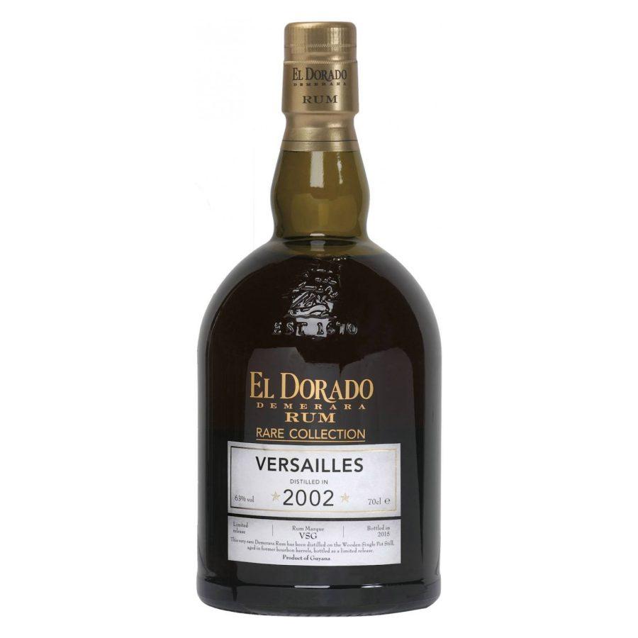 Rare Collection Versailles 2002 - El Dorado Demerara Rum