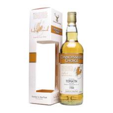 Connoisseurs Choice 1988 distilled ad Tomatin Gordon & MacPhail