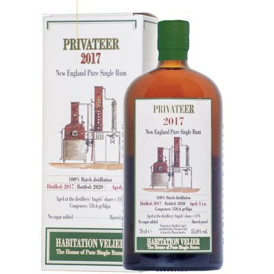 Privater 2017 new England Pure Single Rum 3 years old Habitation Velier