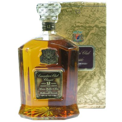 Canadian Club 12 years 1 litre