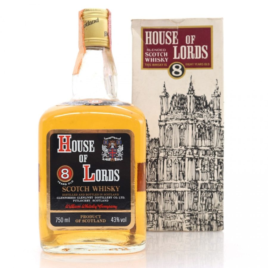 House of Lords 8 years old Whisky