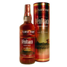 BenRiach 15 year Tawny Port Wood Finish