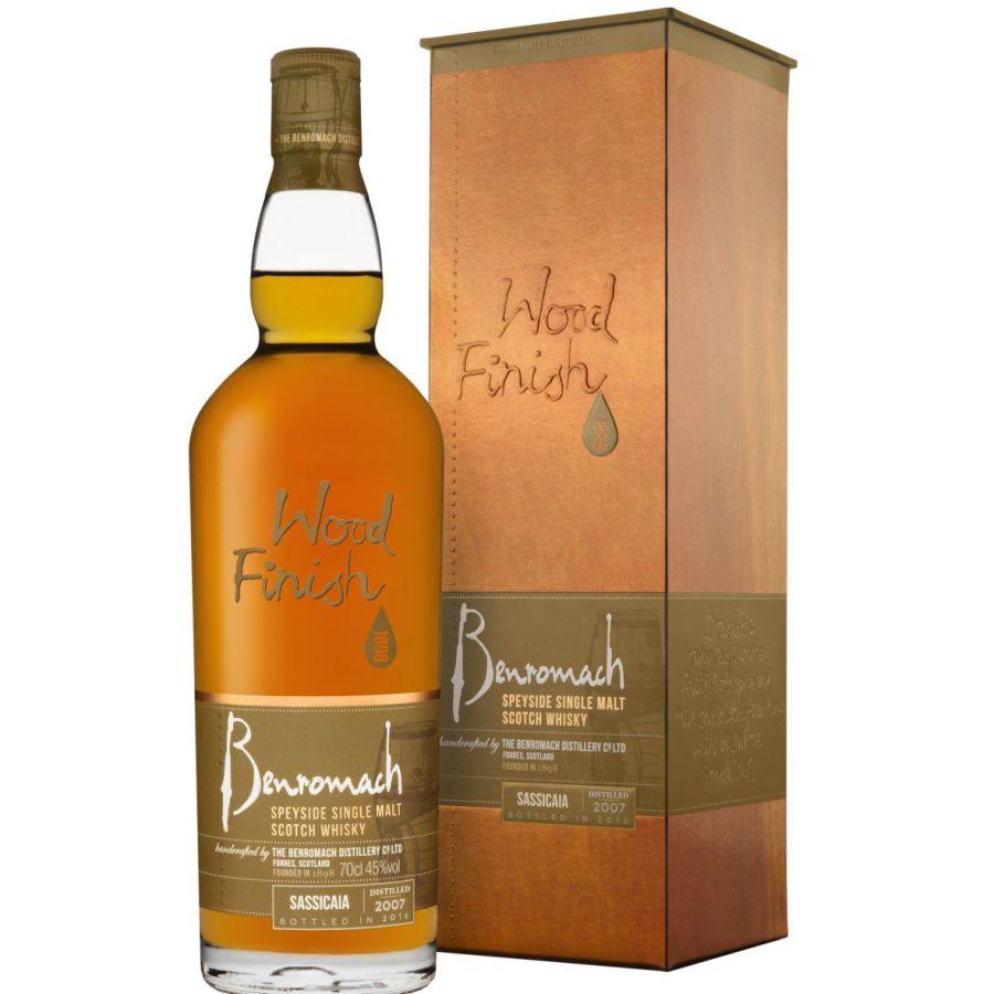 Benromach Sassicaia 2007 bottled 2016 9 years Wood Finish