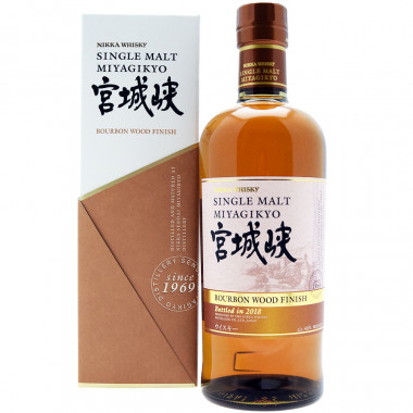 Nikka Miyagikyo Burbon Wood Finish Whisky