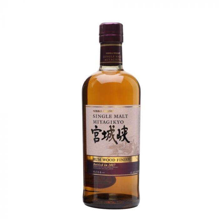 Nikka Miyagikyo Rum Wood Finish Whisky